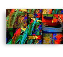 Deep Sea Quilt Canvas Print
