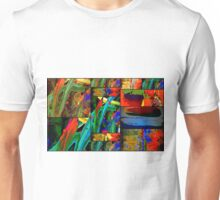 Deep Sea Quilt Unisex T-Shirt
