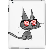 Cat With Hypno Glasses iPad Case/Skin
