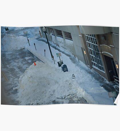 snowstorm sunday Poster
