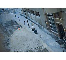 snowstorm sunday Photographic Print