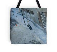 snowstorm sunday Tote Bag