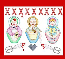 Bad Little Mummas by Sharlzndollz
