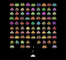 Fashionable Invaders by Terry  Fan