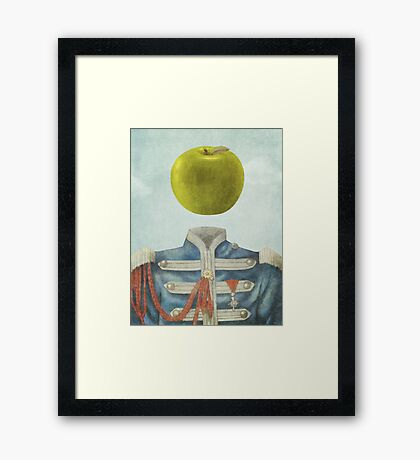 Sgt. Apple  Framed Print