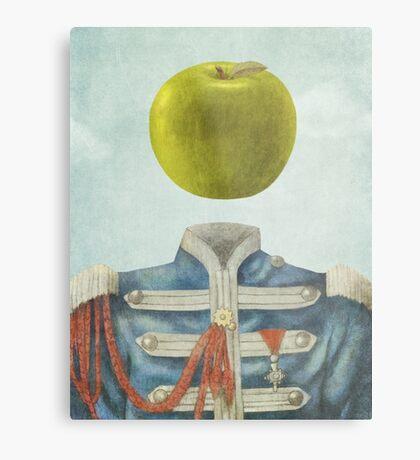 Sgt. Apple  Metal Print