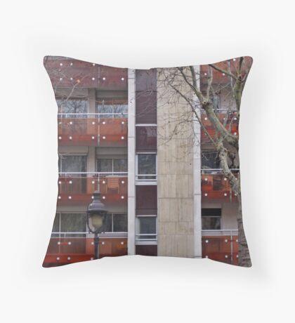 French Apartments Throw Pillow