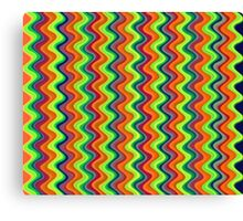 Psychedelic Waves  Canvas Print