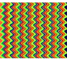 Psychedelic Waves  Photographic Print