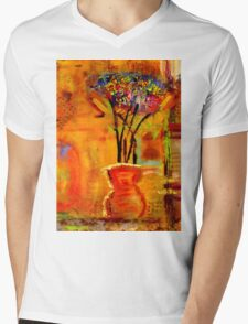 On My Window Sill Mens V-Neck T-Shirt