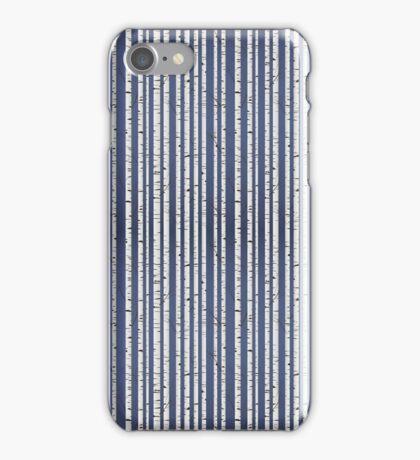 Birch wood forest iPhone Case/Skin