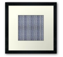 Birch wood forest Framed Print