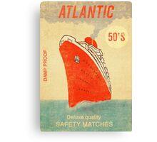 Atlantic Saftey Matches  Canvas Print