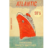 Atlantic Saftey Matches  Photographic Print