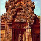 Banteay Srei~ The Citadel of Women by Ritu Lahiri