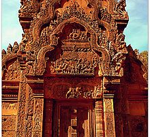 Banteay Srei~ The Citadel of Women by Ritu Lahiri