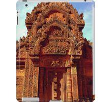 Banteay Srei~ The Citadel of Women iPad Case/Skin
