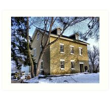 The Grist Mill (Est. 1864) Art Print