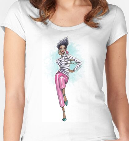 Oh So Fab! Women's Fitted Scoop T-Shirt