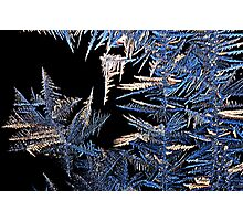 Jack Frost's abstrast Photographic Print