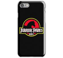 Jurassic Parks and Rec Clean iPhone Case/Skin