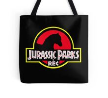 Jurassic Parks and Rec Clean Tote Bag