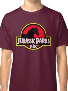 Jurassic Parks and Rec Clean Classic T-Shirt
