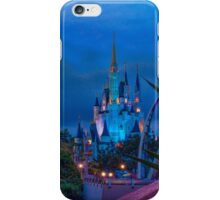 Cinderella Castle and The Land of Tomorrow iPhone Case/Skin