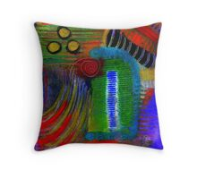 BE MINE Proposal at Jazz Night in the Park Throw Pillow