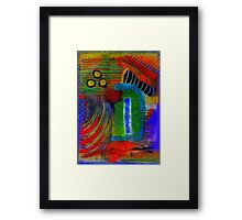 BE MINE Proposal at Jazz Night in the Park Framed Print