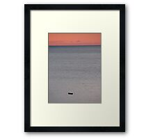 Without company Framed Print