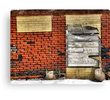 Sealed Entry Canvas Print