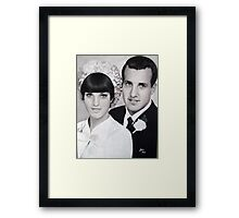 Paul and Sue Framed Print