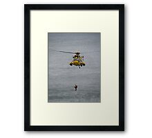 The Rescue Framed Print