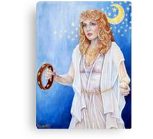 Stevie Nicks of Fleetwood Mac Canvas Print