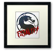 Fatality Framed Print