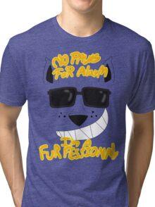 I Am A Trained Furfessional Tri-blend T-Shirt