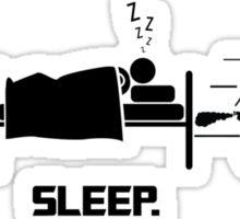 Eat. Sleep.Ride. Sticker