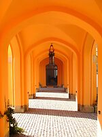 Orange Arches.. by Eugenio