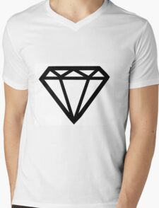 Cher Lloyd Diamond B/W Mens V-Neck T-Shirt