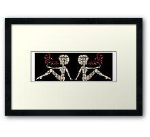 'Smkin' Kills'_1_print [RBsPECIAL] Framed Print