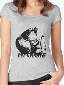 IN CHARGE Women's Fitted Scoop T-Shirt