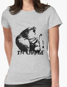 IN CHARGE Womens Fitted T-Shirt