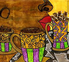 I'll Take Three Cups of Java Please by © Angela L Walker