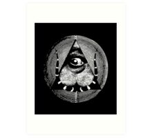 dali's all-dreaming eye Art Print
