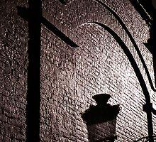 Shadow on a Wall, Brugge by ragman