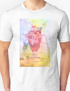 Summer Sundae Mixed media T-Shirt