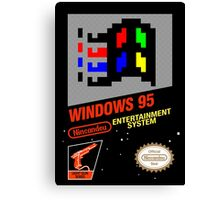 NES Windows95 Canvas Print