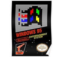 NES Windows95 Poster