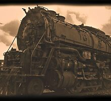 Loco circa 1850 (Daguerreotype photo edit) by Lenny La Rue, IPA